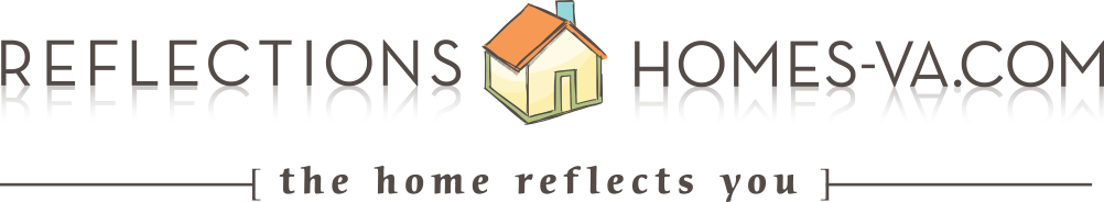 Reflections Homes VA Logo
